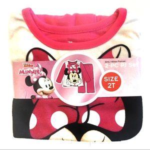 Girls 2T Minnie PJs